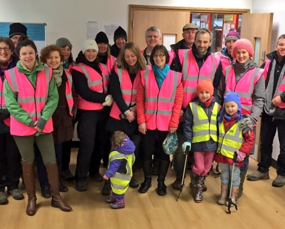 'Our Altrincham' Volunteers, helping to keep our town clean and tidy