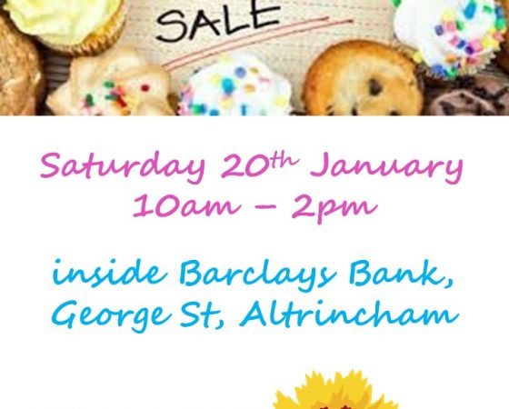 Fundraising Bake Sale – Jan 20th
