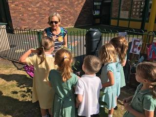 St. Hugh's Catholic Primary School's Wheelbarrow