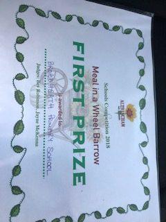 Winners' Certificate