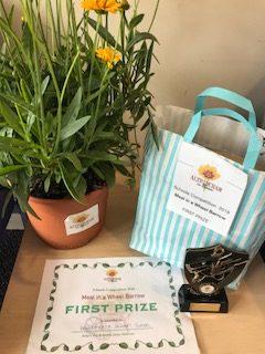 Winners' Prizes & trophy