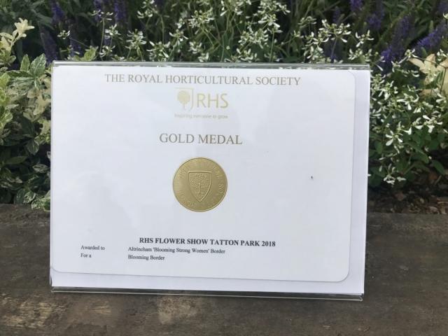 RHS Gold Medal!